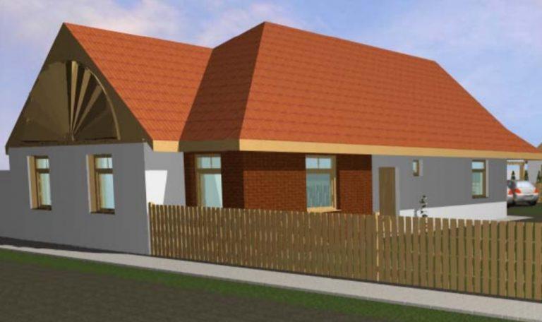 Új építésű ház Makón!